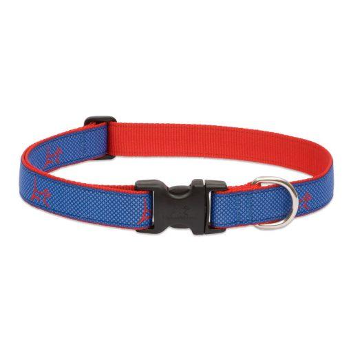 LUPINE nyakörv (CLUB Newport Blue 2,5 cm széles 31-50 cm)