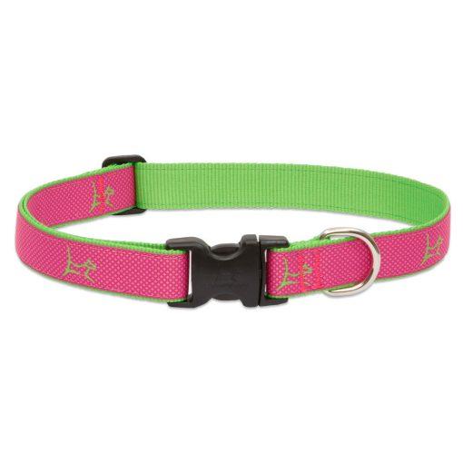 LUPINE nyakörv (CLUB Bermuda Pink 2,5 cm széles 41-71 cm)