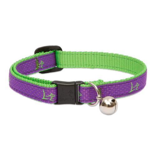 "Lupine macska nyakörv (CLUB 1/2"" Hampton Purple csengővel 21-30 cm )"