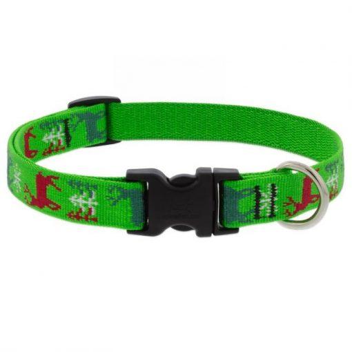 LUPINE nyakörv (Happy Holidays- Zöld 1,9 cm széles 34-55 cm)