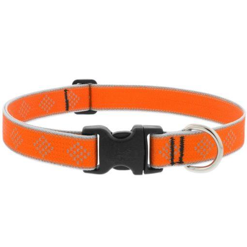LUPINE nyakörv (HL Orange-Diamond 2,5 cm széles 41-71 cm)