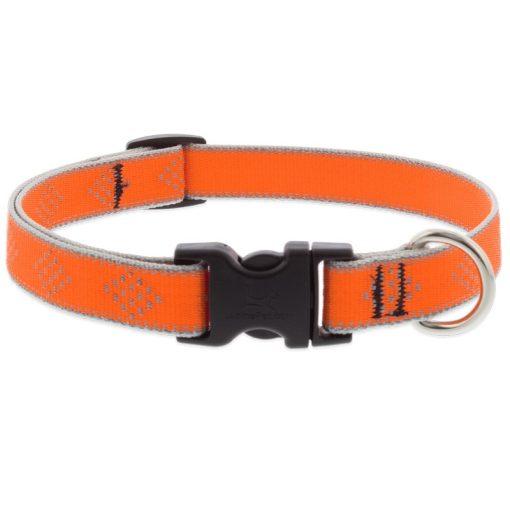 LUPINE nyakörv (HL Orange-Diamond 1,9 cm széles 34-55 cm)