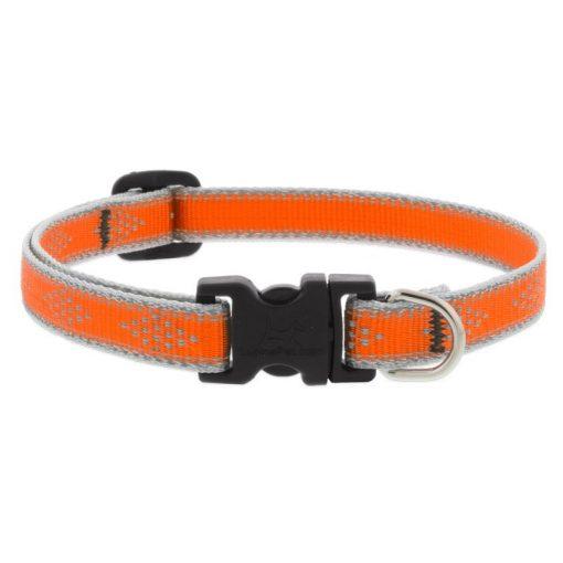 LUPINE nyakörv (HL Orange-Diamond 1,25 cm széles 26-40 cm)