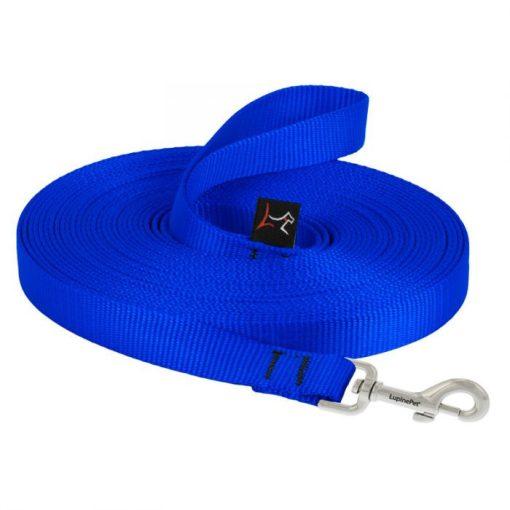 Lupine futtató póráz (Kék 914 cm 1,25 cm széles)