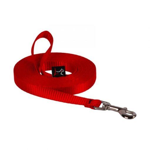 Lupine futtató póráz (Piros 914 cm 1,25 cm széles)