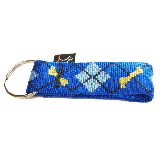 Lupine kulcstartó (Dapper Dog 2,5 cm széles)