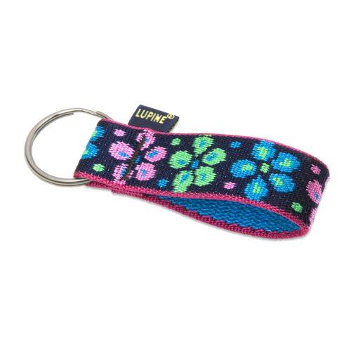 Lupine kulcstartó (Flower Power 2,5 cm széles)