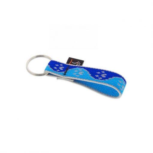 "Lupine kulcstartó (HL Blue-Paws 3/4"")"