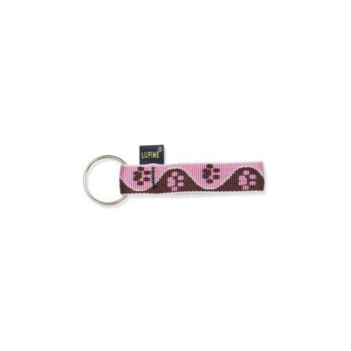 Lupine kulcstartó (Tickled Pink 1,9 cm széles)