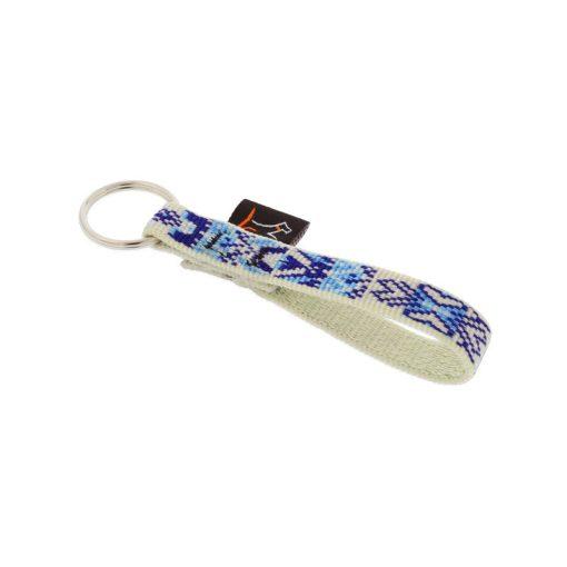 Lupine kulcstartó (Fair Isle 1,25 cm széles)