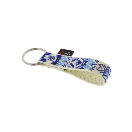 Lupine kulcstartó (Fair Isle 1,9 cm széles)
