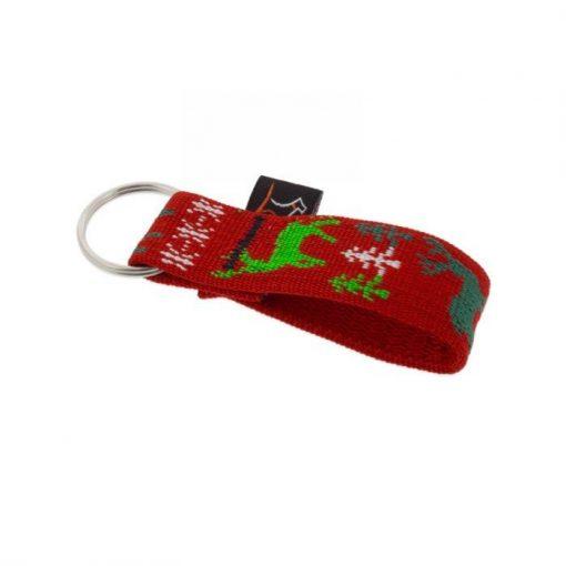 "Lupine kulcstartó (Happy Holidays - Red 1"")"