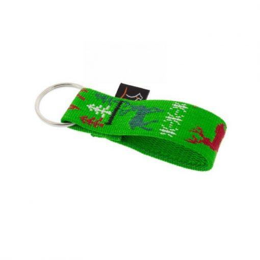 "Lupine kulcstartó (Happy Holidays - Green 1"")"