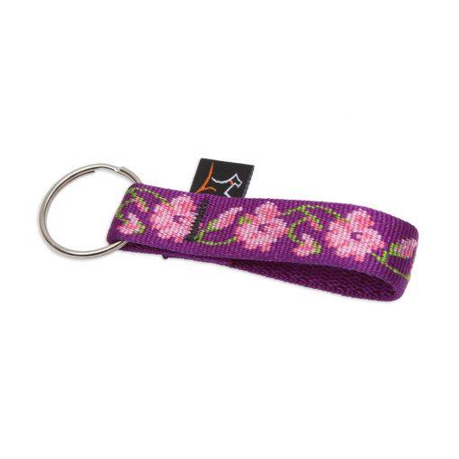 Lupine kulcstartó (Rose Garden 1,9 cm széles)