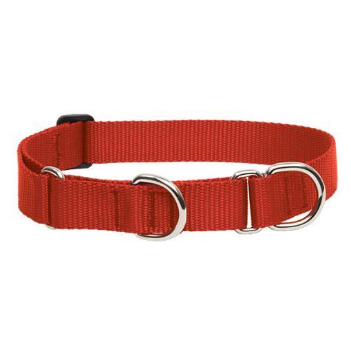 Lupine Félfojtó nyakörv (Piros 2,5 cm széles 39-55 cm)
