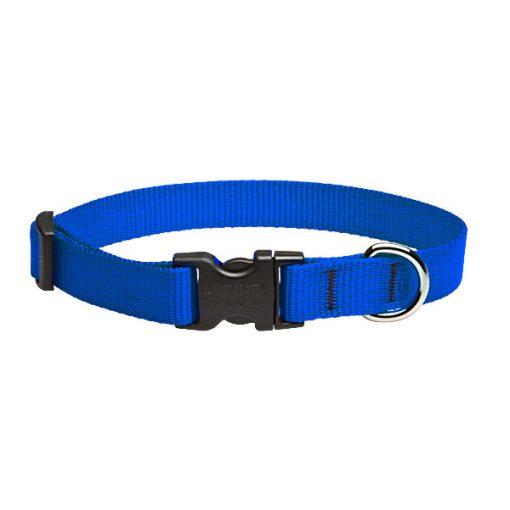 Lupine nyakörv (Kék nyakörv 1,9 cm széles 34-55 cm)