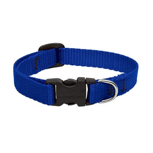 Lupine nyakörv (Kék nyakörv 1,25 cm széles 16-22 cm)